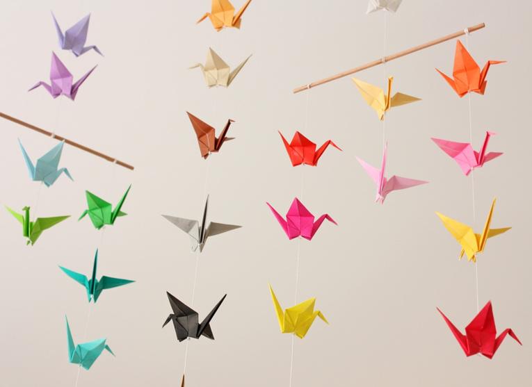 inspiration origami geekingirls. Black Bedroom Furniture Sets. Home Design Ideas